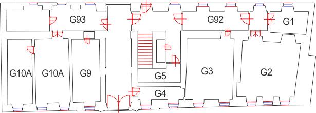 Ground floor of building G