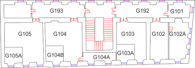Floor 1 of Building G