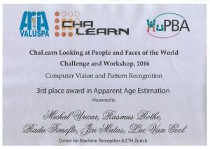 ChaLearn_award_Uricar