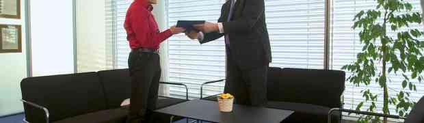 Tomas Svoboda took over the diploma of professorship from the rector doc. Petracek