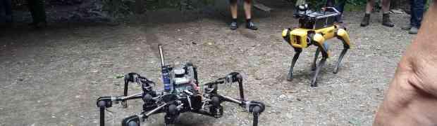 V jeskyni budou trénovat roboty